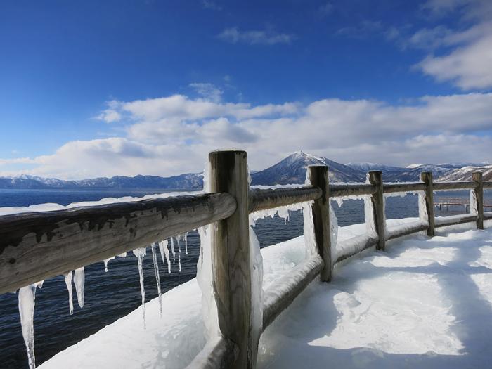 千歳・支笏湖 氷濤まつり 支笏湖