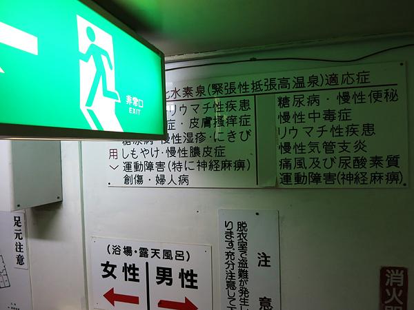 湯元温泉 国民宿舎雪秩父 効能