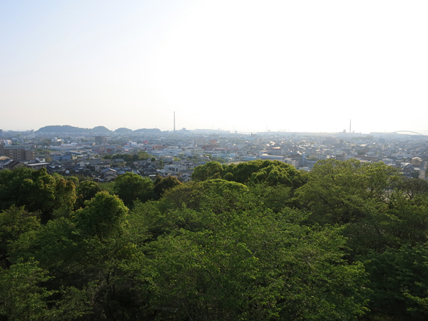 (延命貯水池展望台 風景