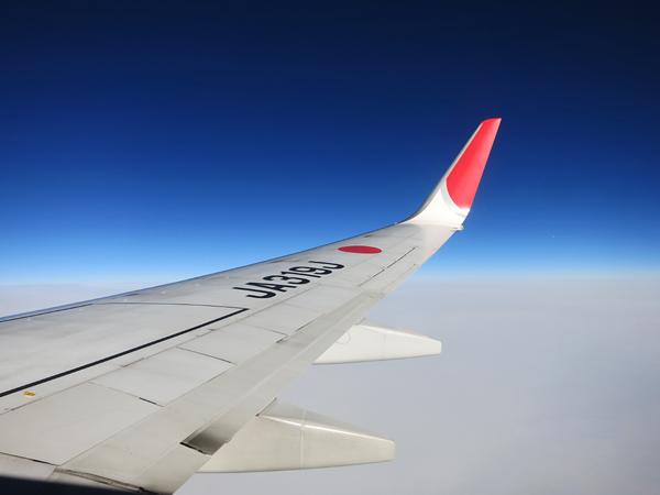 機上 風景