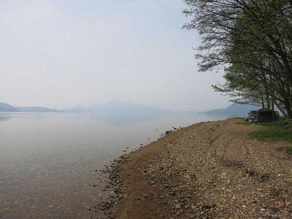 仲洞爺キャンプ場 第2サイト 湖畔