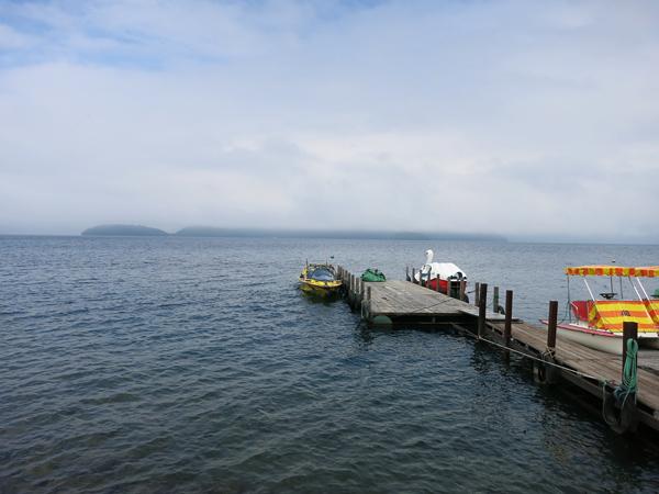洞爺湖 ボート
