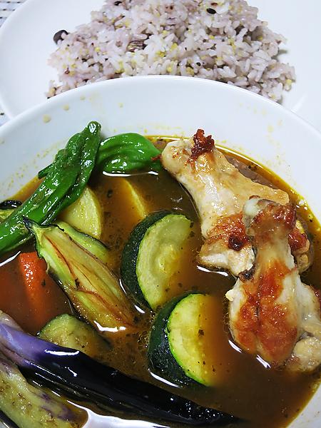 家庭菜園 スープカレー