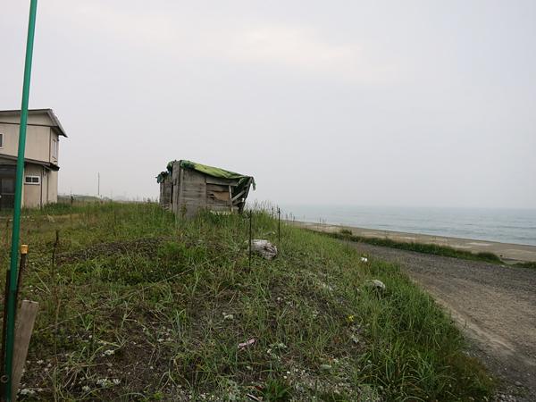 白老 海岸 番屋