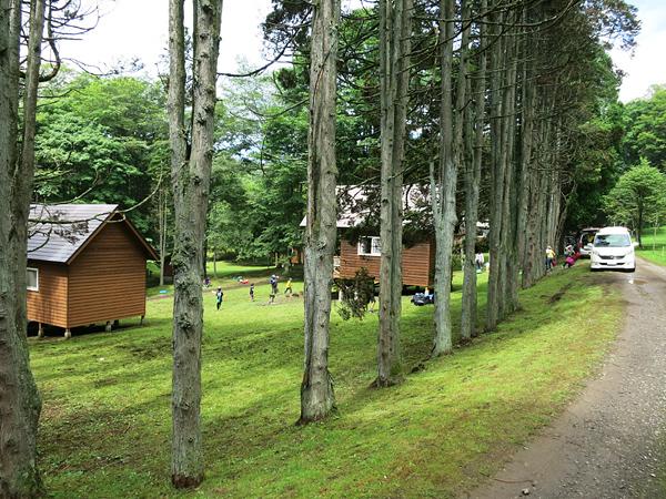 ポロトの森キャンプ場 バンガロー