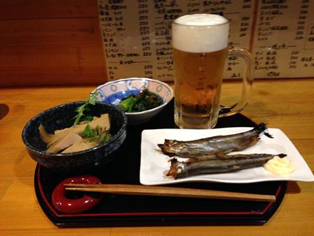 家庭料理の店『ふく』 生ビール
