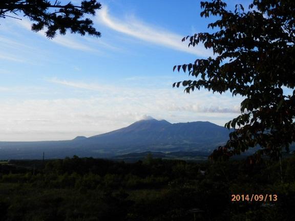 バラギ高原の朝