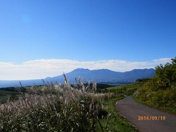 バラギ高原よりの浅間山