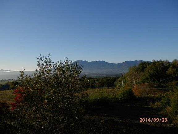 29日バラギ高原の朝