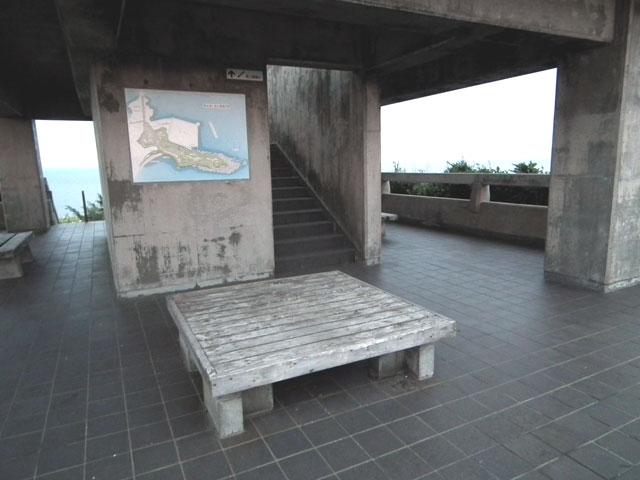 城ヶ島公園の展望台の1F