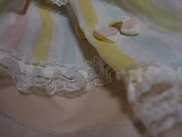 パステル裾