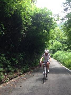 09日向林道へ