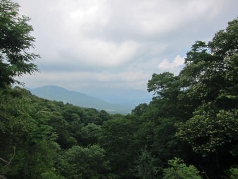 12一之瀬高原から丹波山方面