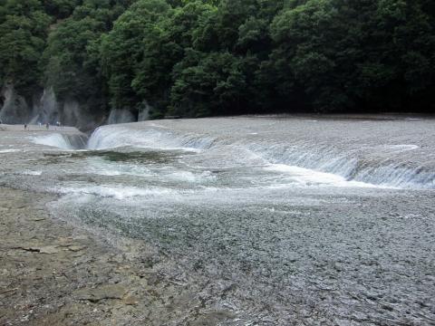 41吹割の滝