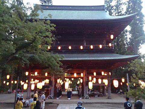 03円覚寺の盆踊り