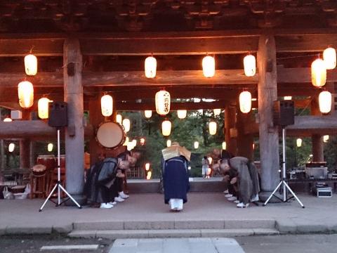 05円覚寺の盆踊り