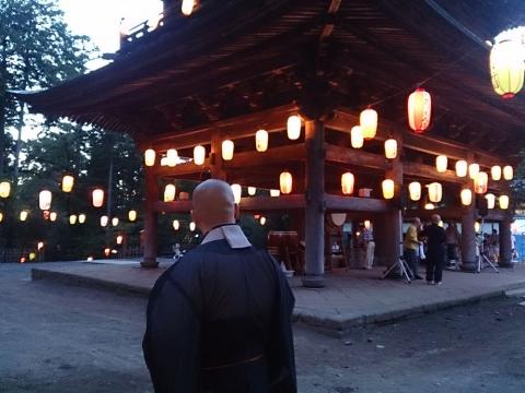 06円覚寺の盆踊り