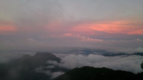 09燕岳夕景2