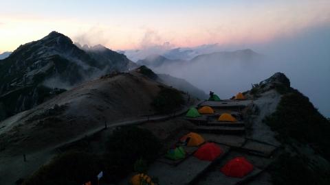 10燕岳夕景3