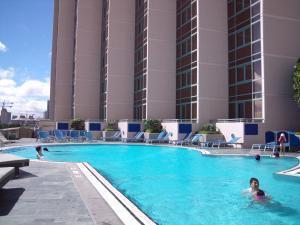 プリンスホテルのプール
