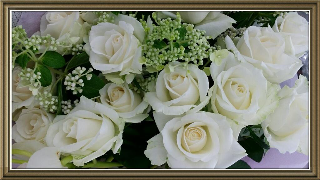 バラの花束1