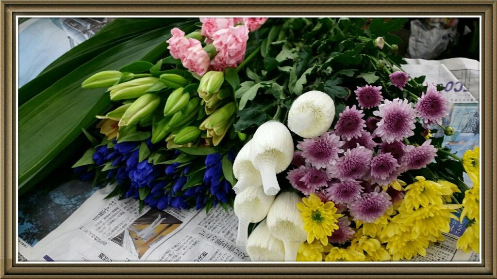 8月お盆用生花福袋2