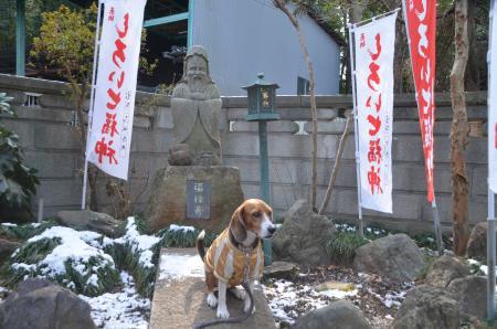 20140206しろい七福神②西輪寺10