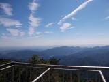 焼山の展望台からの眺め