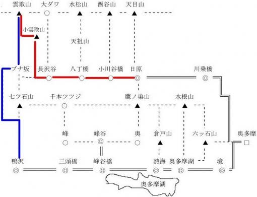 雲取山 日原ルート