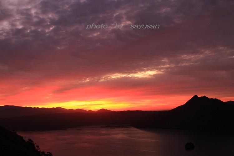 日の出前~摩周湖~