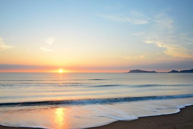 渚の夜明け(2)