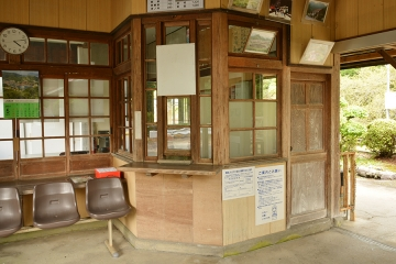 美作河井駅(5)