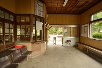 美作河井駅(6)