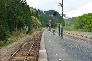 美作河井駅(7)