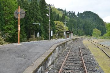 美作河井駅(8)