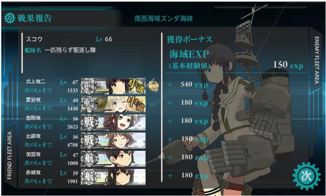 艦これ E-2 2回目