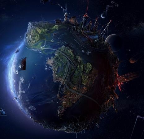 ファンタジー惑星:モロトフスフィア(火炎瓶星)