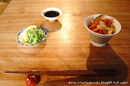 circus◇ランチ小鉢(人参・小松菜・打豆のバルサミコ和え)