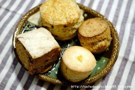 スコーン(お菓子屋mimosa、unicorn bakery、葉々屋)