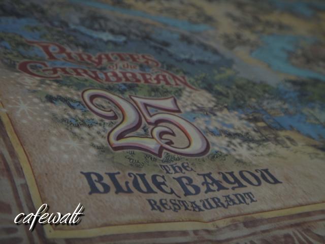 Blue Bayou Restaulant Pirates of the Caribbean Map 2