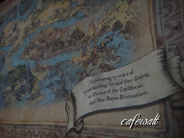 Blue Bayou Restaulant Pirates of the Caribbean Map 3