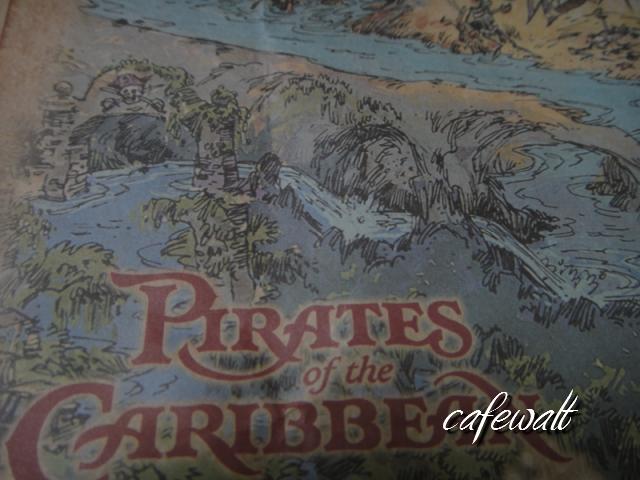 Blue Bayou Restaulant Pirates of the Caribbean Map 5