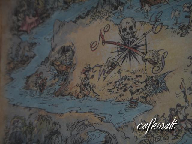 Blue Bayou Restaulant Pirates of the Caribbean Map 6