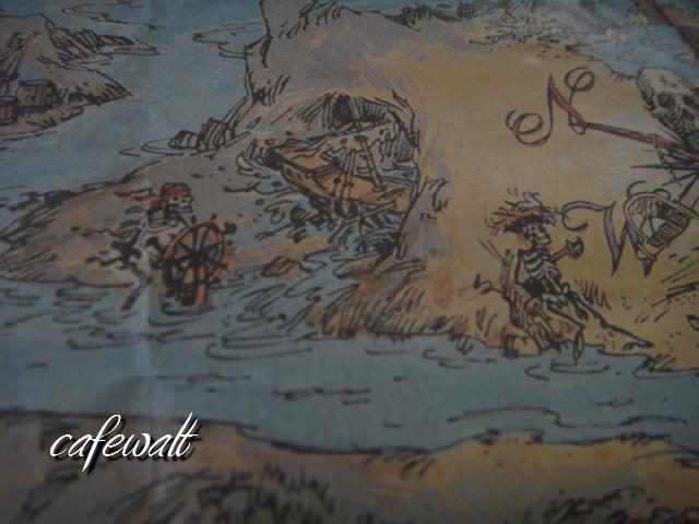 Blue Bayou Restaulant Pirates of the Caribbean Map 7