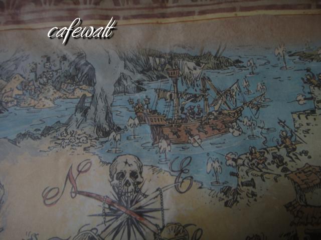Blue Bayou Restaulant Pirates of the Caribbean Map 9