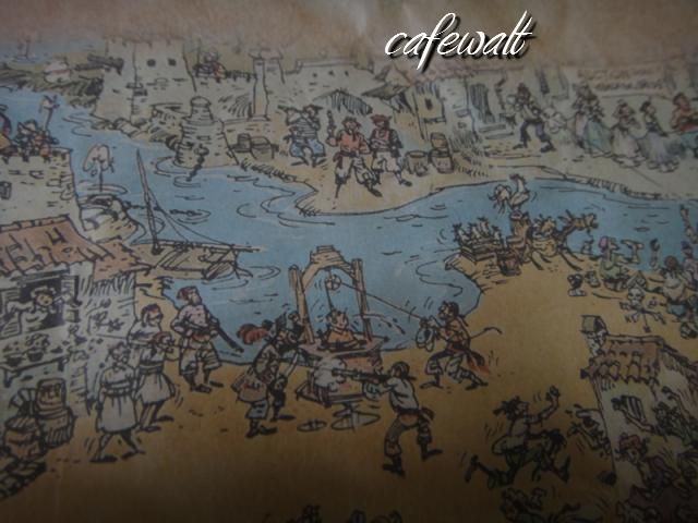 Blue Bayou Restaulant Pirates of the Caribbean Map 10