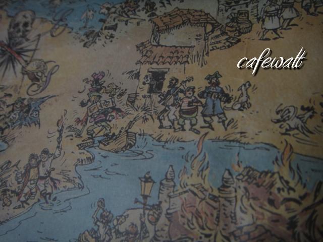 Blue Bayou Restaulant Pirates of the Caribbean Map 13