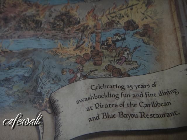 Blue Bayou Restaulant Pirates of the Caribbean Map 16