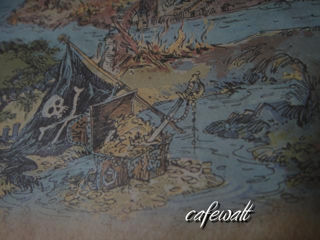 Blue Bayou Restaulant Pirates of the Caribbean Map 17