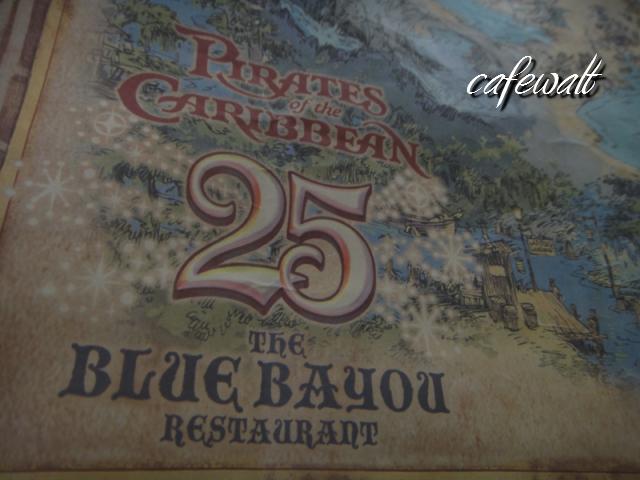 Blue Bayou Restaulant Pirates of the Caribbean Map 18
